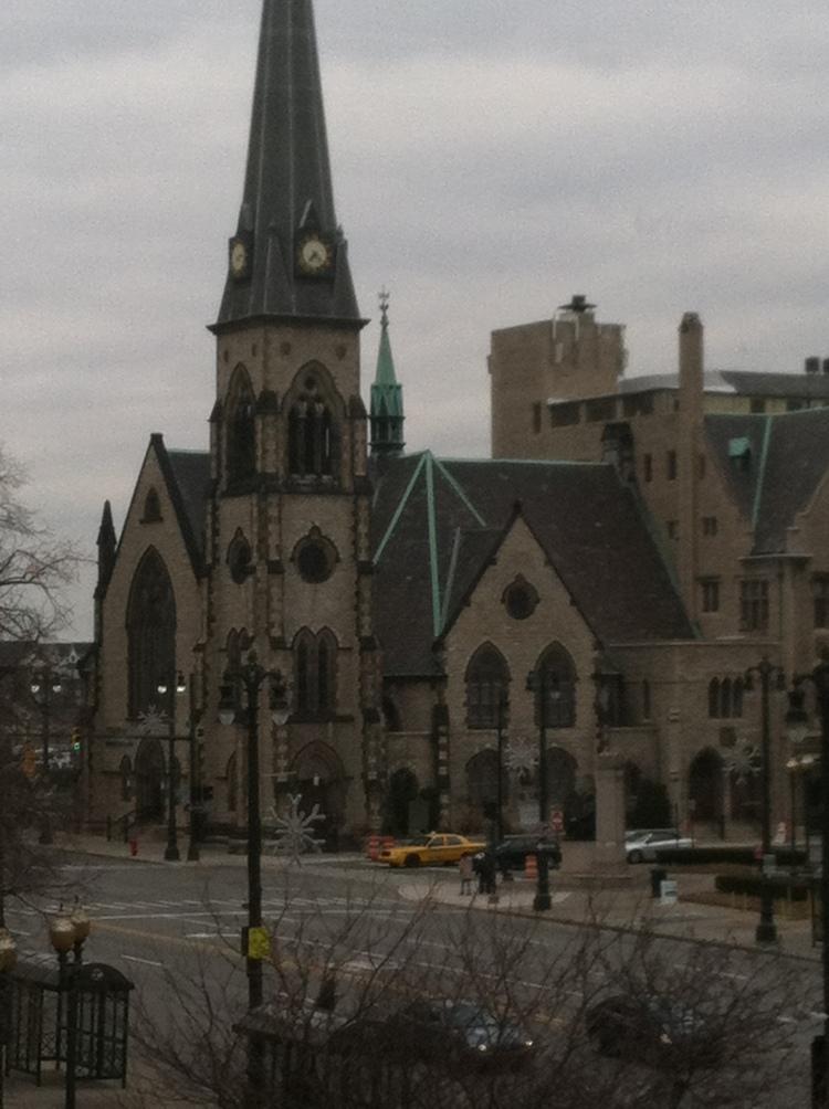 Detroit has some wonderful buildings.